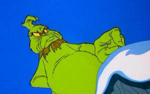 The Grinch on Mount Crumpit
