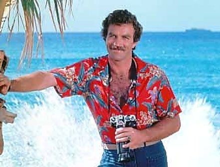Magnum PI with camera