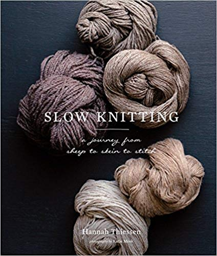 SLOW KNITTING book cover